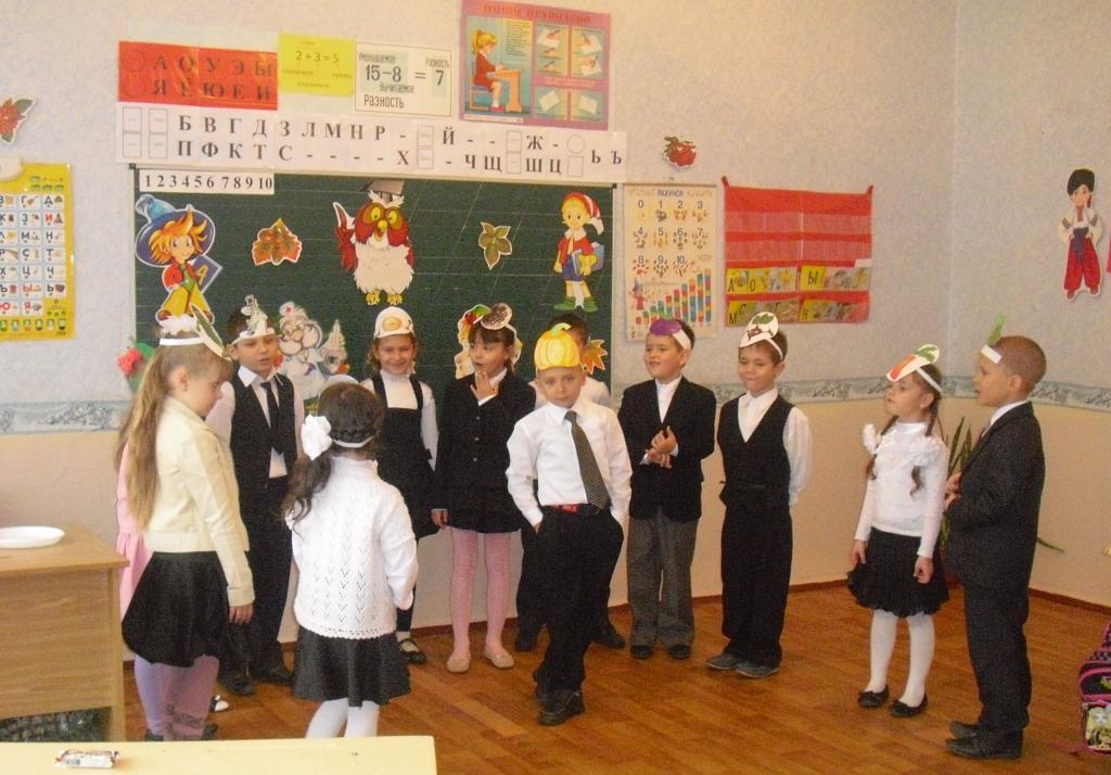 Сценарий праздника для 1 класса посвящение