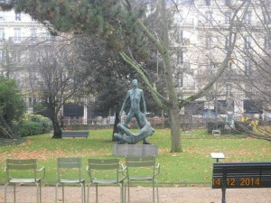 Наши в Париже
