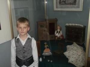 16 сенября ЗА класс посетил Запорожский краеведческий музей.