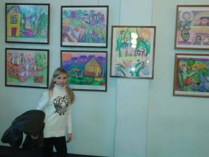 Виставка юних художників Запоріжжя